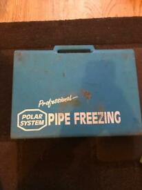 Polar System Pipe Freezing
