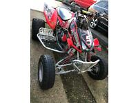 Quad Honda trx road legal quad