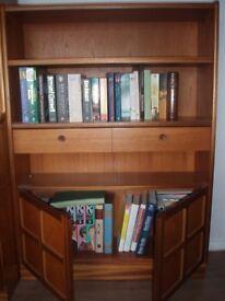 Book Case with storage