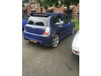 Renault Clio 1.2 FULL MOT HIGHLY MODIFIED, SPEAKERS AMPS, PLAYSTATION, BODYKIT TV SCREEN TWINEXHAUST