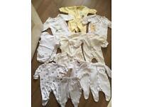 Unisex newborn clothes bundle