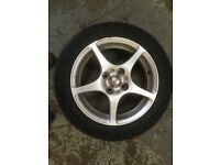 Alloy wheels - MR2 with very good tyres