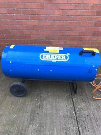 Space Heater - Large Draper Pro 280 Propane Gas . 280,000 btu