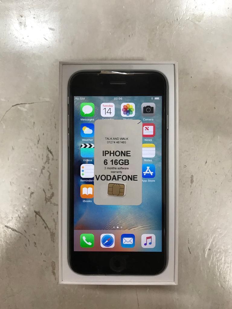 Apple iPhone 6 16GB works on vodafone