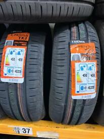 195/60/15 195 60 15 88H BRAND NEW TYRE TRACMAX PAIR OF 2 TYRES FITTED BALANCED £80