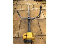Petrol strimmer industrial brush cutter