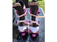 Girls Osprey quad skates adjustable size 3-5