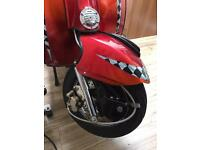 Vespa px 125 kitted 180 scooter custom