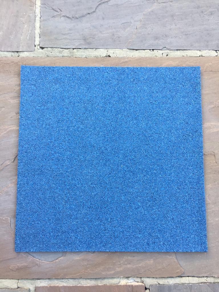 Premium Blue Carpet Tiles £1 each Bristol