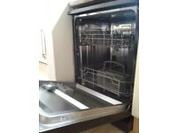 Bush DWFSG126B free standing dishwasher.
