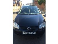 VW GOLF for sale 1.4 2008 70000 miles