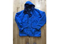 Berghaus Royal Blue Waterproof Coat 52 inch chest (XXL) in vgc