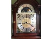 Beautiful cherry Grandmother Clock. Excellent working condition, genuine reason for sale.