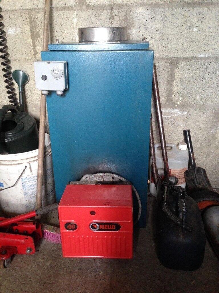 50/70 Warmflow oil boiler and burner | in Claudy, County Londonderry ...