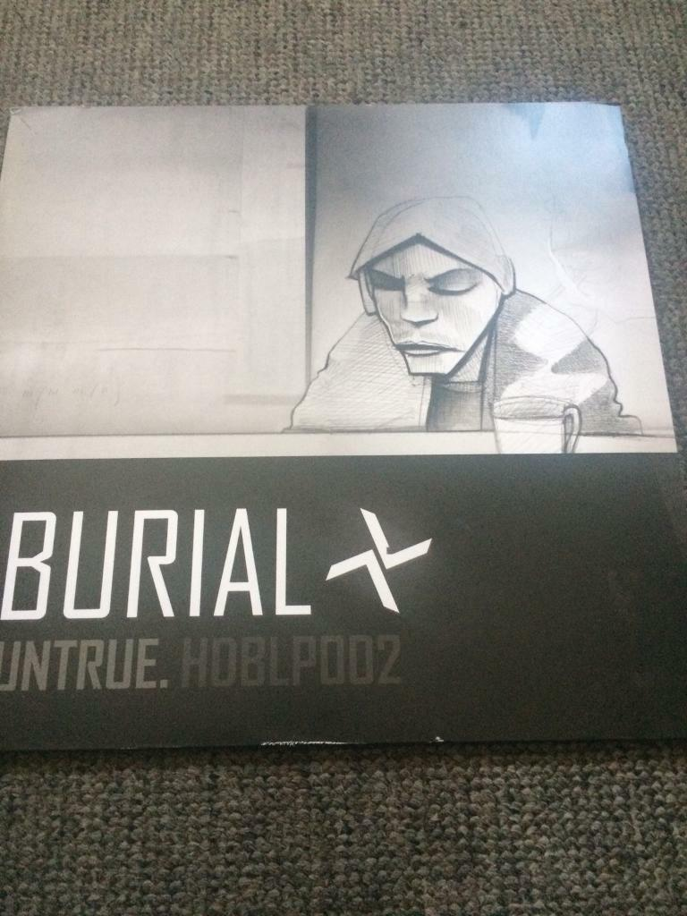 BURIAL LP VINYL UNTRUE RECORD MINT CONDITION CAN POST UK