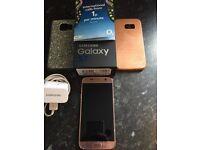 Samsung S7 Rose Gold 2 month old