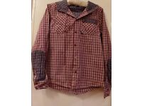 Boys long sleeve Bench shirt in excellent condition