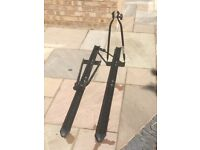 Car roof mounted carrier for bike (x2)