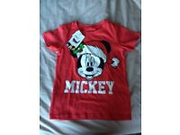 Brand new kids Mickey Mouse t-shirt 3-4 yrs
