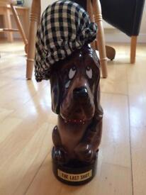 Bassett hound decanter