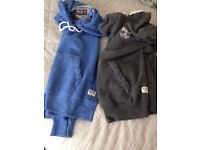 2 soulcsl hoodies x small
