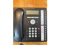 AVAYA OFFICE PHONE SYSTEM,4 phones and reception desk main station