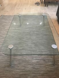 Stylish Designer Glass Coffee Table for Sale