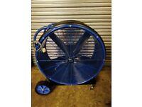 BISON BLUE MAX 950 TURBO POWERFUL INDUSTRIAL FAN 240v (SINGLE SPEED FAN)