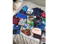 Big bundle of boys clothes age 4-5 years