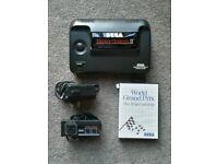 Console sega master system II + controller + power supply + world grand prix game