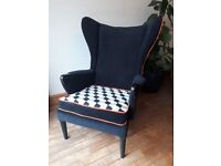 Parker knoll wing armchair