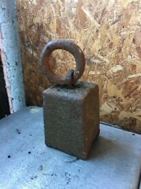 56lb Cast Weight Decorative Architectural Salvage- COLLECT OR DELIVER