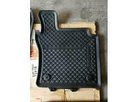 Car mats rubber vw tiguan new shape