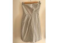 XS strapless dress from Zara with pockets!