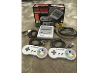 Nintendo mini snes. With receipt and warranty