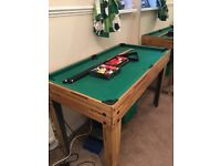 POOL/SNOOKER GAMES TABLE