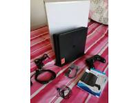 Playstation 4 Black 500gb with stand.
