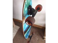 Kahuna Neo Fish and Globe Underwater Longboards, together or separate