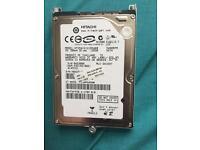 Hp laptop 6710b hard drive 120gb