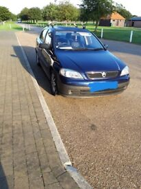 Astra very low mileage