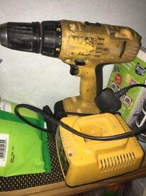 Bosch and deWalt drill both for £35