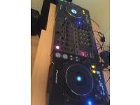 Pioneer cdj 1000mk3 pair and djm 600 mixer set