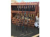 Fishing Rods sea