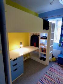 IKEA SMASTAD Loft bed and desk
