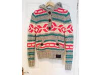 Women's Superdry wool jumper - size small