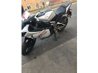 Reiju RS3 125 with upgraded exhaust and heated hand grips for sale- pick up ready