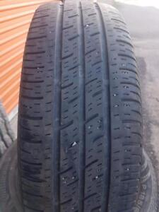4 PNEUS ETE - CONTINENTAL 185 65 15 - 4 SUMMER TIRES
