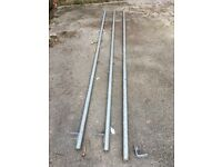 Unistrut 3 Long Lengths, various fixings and feet, Bargin