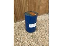 Large oil drum for bbq or gardening