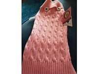Pet London New Pink Cable Dog Jumper XXL